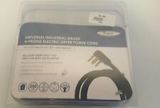 Whirlpool Universal Industrial Grade 4 Prong Electric Dryer 6' Dryer Power Cord