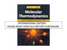 MOLECULAR THERMODYNAMICS by DONALD A. MCQUARRIE, JOHN D. SIMON