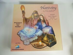 Nativity by Tom duBois Puzzle 1000 Pieces Sealed