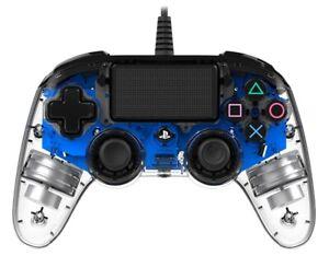 NACON Contrôleur Filaire Blu Lumineux PS4 PLAYSTATION 4 NACON
