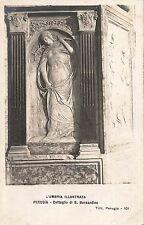 Postcard Italy Umbria Perugia Detail of S. Bernadino RPPC Unused c.1930s-40s?