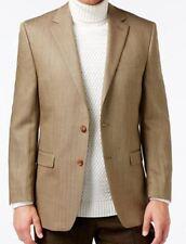 Lauren Ralph Lauren Blazer Size 42R Men Wool Silk Suit Jacket Sport Light Brown