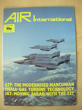AIR INTERNATIONAL MAGAZINE JANUARY 1986 McDONNELL DOUGLAS RF-4B PHANTOM