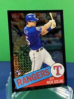 2020 Topps Series 2 Nick Solak Black Silver Pack 35th Anniversary RC #'d /199 NM