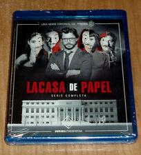 LA CASA DE PAPEL SERIE COMPLETA 4 BLU-RAY NUEVO PRECINTADO REGION A-B-C