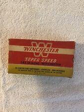 Vintage Winchester Super Speed 243 Empty Rifle Ammo Box