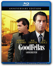 Goodfellas Blu ray New Robert De Niro Ray Liotta Joe Pesci Anniversary Edition