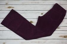 Boden Women's Size 10 x 29  Purple Corduroy Jeans pants