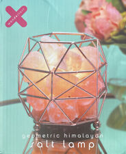 Geometric Himalayan Salt Lamp