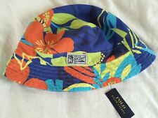 Polo Ralph Lauren Tropical Bucket Hat Reversible SM Brand New $55