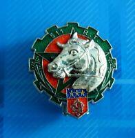 #2491# Insigne métallique du 511° RT régiment du train de fabrication Delsart