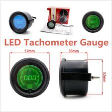 7 Colors LED Display Tacho Tester Metal Diameter Tachometer Gauge Car Digital