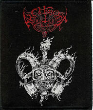 Archgoat AG 666 Patch Venom Bathory Black Metal Slayer Behemoth Gorgoroth Goat