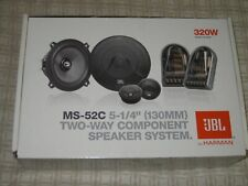 JBL MS-52C 2-Way 5.25in. Car Component Speakers