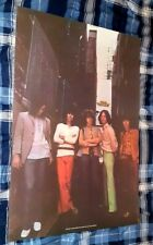 ROLLING STONES 1969 ERA POSTER USED FOR 1969 TOUR CIRCA 1980 BIG SIZE NICE!