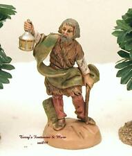 "FONTANINI DEPOSE ITALY RETIRED 2.5"" MORDECAI WATCHMAN NATIVITY VILLAGE FIGURE"