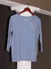 J JILL PURE JILL Clearwater Blue Raglan Sleeve Sweatshirt Size XS NWT $69