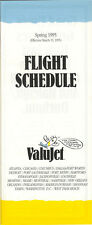 ValuJet Airlines system timetable 3/15/95 [5112] (buy 4+ save 50%)