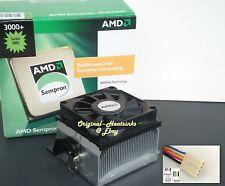 AMD Sempron Heatsink Cooling Fan 2600-2800-3000-3100-3200 Skt 754-939-940 New
