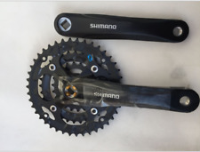 Shimano ALTUS FC-M361 6-8 Speed Square Taper Crankset 42-32-22T 175MM MTB Bike