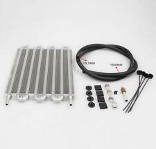 8 Row Aluminum Remote Transmission Oil Cooler Auto Manual Radiator Converte