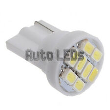 1 Blanco 8 SMD LED Bombilla Led Interior De Cuña T10 12v