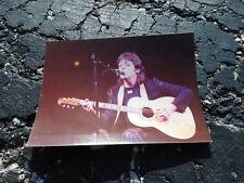 Beatles Paul McCartney w/WINGS Private Snapshot Photo 1976 #9 - Rickenbacker