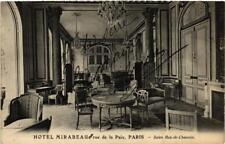 CPA PARIS (2e) HOTEL MIRABEAU 8, rue de la Paix. Salon Rez-de-Chaussee (537399)