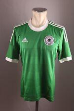 Deutschland Trikot Gr. M Adidas Jersey 2012 EM WM Away grün DFB Germany