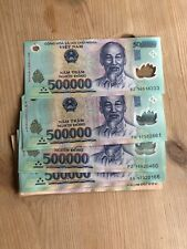 Vietnamese dong one million VND EXCELLENT Condition, New Polymer Notes