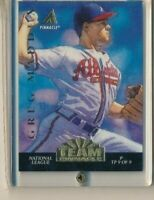 1994 Team Pinnacle TP9 Greg Maddux Braves Jack McDowell Baseball Card