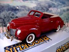 1/43 Brooklin models (England) 1939 Mercury BRK 159 White metal