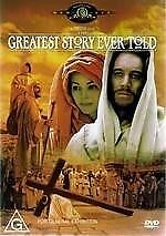 THE GREATEST STORY EVER TOLD -THE STORY OF JESUS NEW DVD - FREE LOCAL POST
