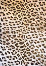 2 x A4 Leopard Skin Patterned Vellum Paper 120gsm NEW