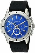 Caravelle New York 43A138 Gents Chronograph Blue Dial 3 Year Guar RRP £139.00