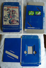 **BOX ONLY** Auto Racing - Mattel Intellivision **BOITE SEULEMENT**