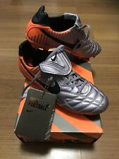 100%Auth BNIB NIKE TIEMPO LEGEND ELITE FG WC2010 Football Soccer Boots US9 RARE
