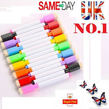 White Board Markers 8 Color Whiteboard Mark Magnetic Markers Pens Pen Dry Eraser