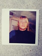 Nick Carter. Backstreet boys. poloroid. Photo. Picture. Collectable. Celebrity.