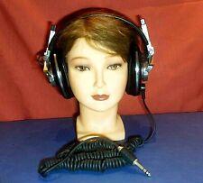 Clean Vintage Old School Headphones Cuffie Pioneer Monitor 10