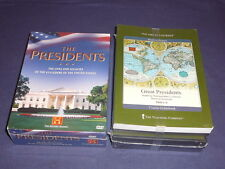 Teaching Co Great Courses  DVDs           GREAT  PRESIDENTS       new  + BONUS