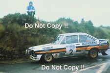 Ari Vatanen Ford Escort RS1800 Manx Rally 1980 Photograph