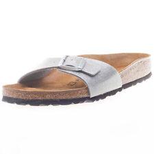 Sandali e scarpe Birkenstock in argento per il mare da donna