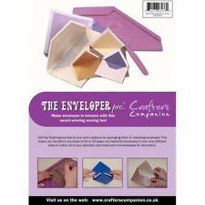Crafters Companion Enveloper Pro-Placa de grabación en relieve-fabricante de envolvente