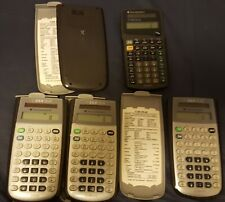 Lot of 5 Ti Texas Instrument Scientific Calculators Ti-36X Solar (estate