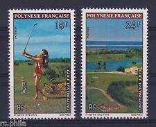 RC002780 POLYNESIE n° 94 / 95 - SPORT GOLF MNH NEUF **