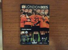 London Bees v Chelsea Ladies 2017-2018 FA Cup Programme