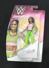 "WWE Superstars figure lot of 2 Natalya & Naomi ""Feel The Glow"" hard to find"