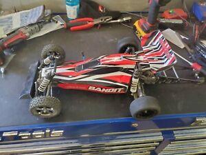 Traxxas 1/10 Scale Bandit VXL Brushless 2WD TSM Buggy - TRX24076-4-GRN
