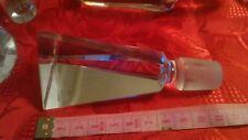 lotto 8 tappi cristallo vetro vintage